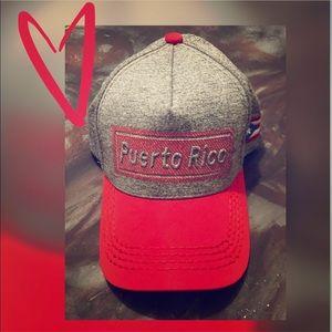 Puerto Rico Snap Back Trucker Hat